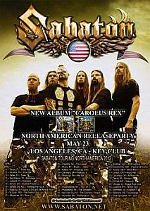 Sabaton - Albumnews und Release Party in LA.