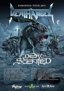 Death Angel - kündigen Europa Tour an!