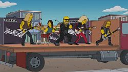 Judas Priest - Metal Gods bei The Simpsons. Video online.