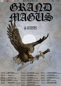 Grand Magus - European Headliner Tour 2017