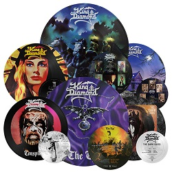 King Diamond - 'Conspiracy', 'The Dark Sides', 'The Eye' LP Re-issues