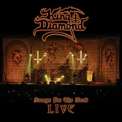 "King Diamond - Live-DVD ""Songs for the Dead Live"""